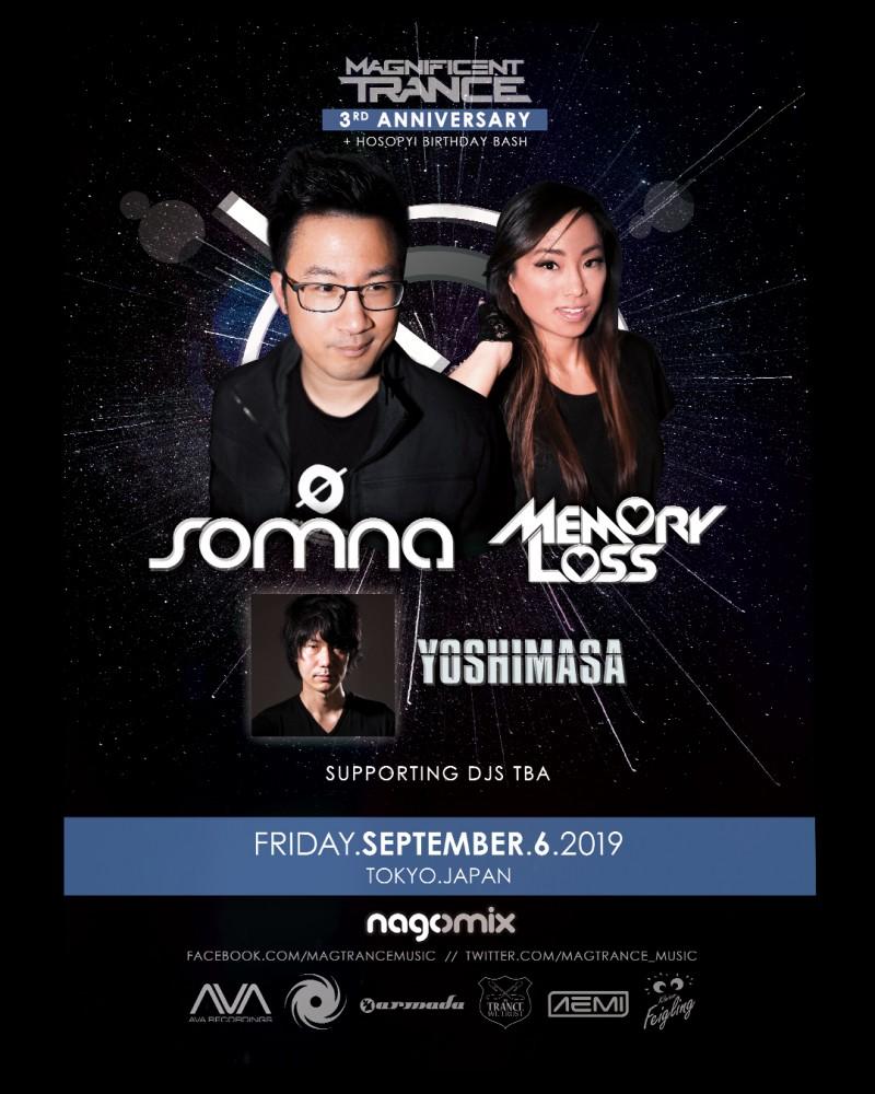 FLYER 1 - Somna & Memory Loss - Sept 6